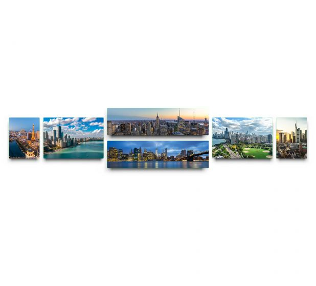 6 Panel Panoramic Collection